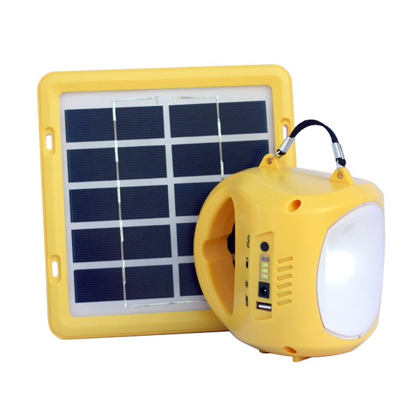 Portable Lights to earthquake victims